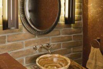 Cómo elegir los materiales de la encimera del baño