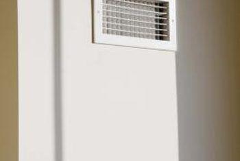 Cómo verificar el aire central con termómetros