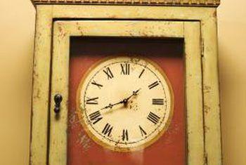 Identificando estilos de reloj de abuelo